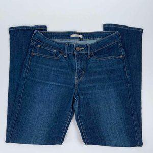 Levis 712 Jeans Size 30 Slim Mid Rise Womens